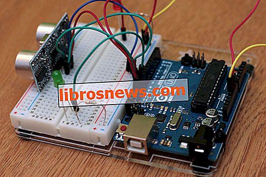 Contoh Arduino dan HC-SR04 Mudah