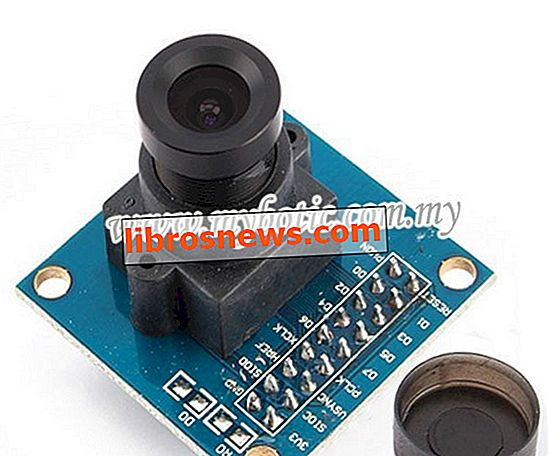 Tutoriel de capture de module de capteur de caméra Arduino OV7670