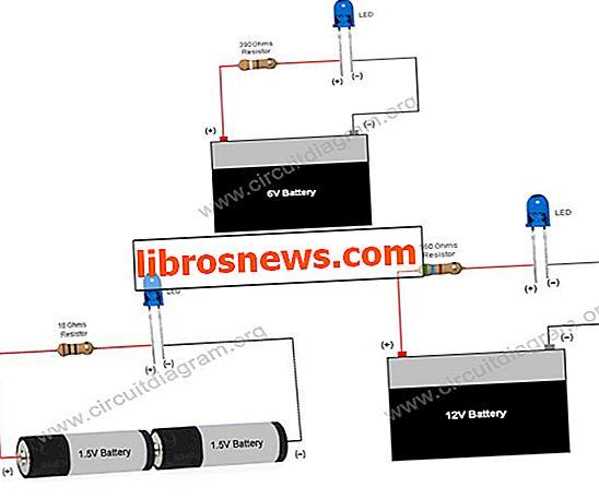 シンプルな基本LED回路(LEDの使用方法)