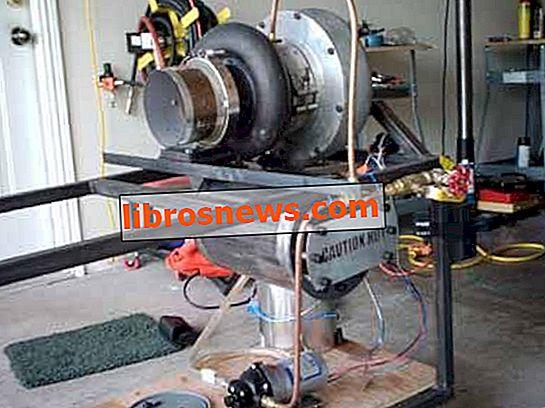 独自のジェットエンジンを構築する方法