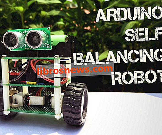 Arduino selbstausgleichender Roboter