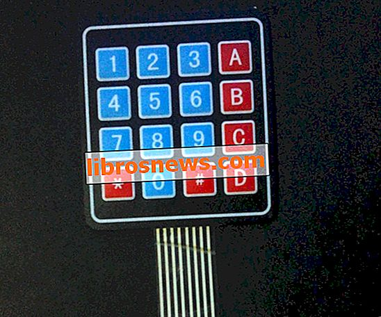 Tutorial Arduino Keypad 4x4