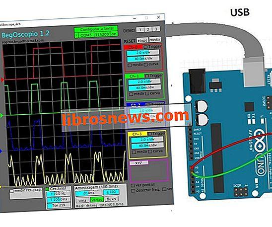 Oszilloskop-Arduino-Verarbeitung