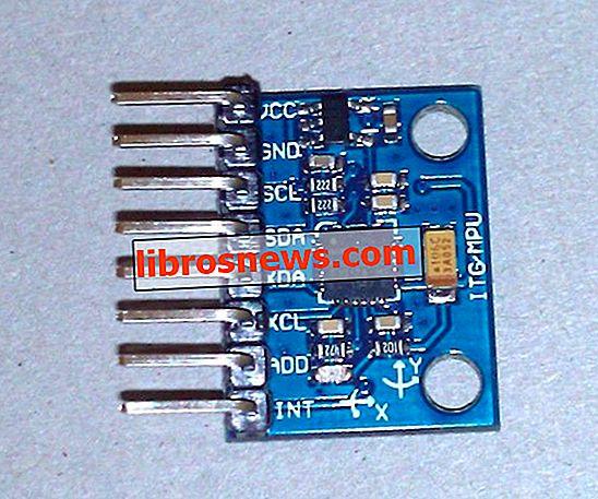 MPU6050: Arduino 6-Achsen-Beschleunigungsmesser + Gyro - GY 521 Test & 3D-Simulation