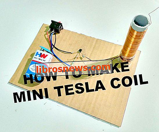 Cara Membuat Coil Tesla Miniatur