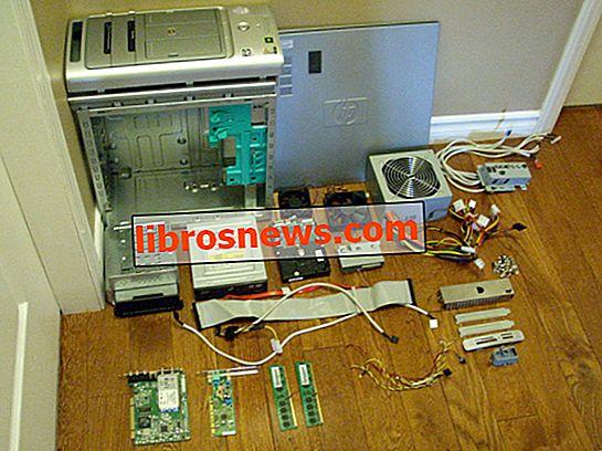 Cómo desmontar una computadora