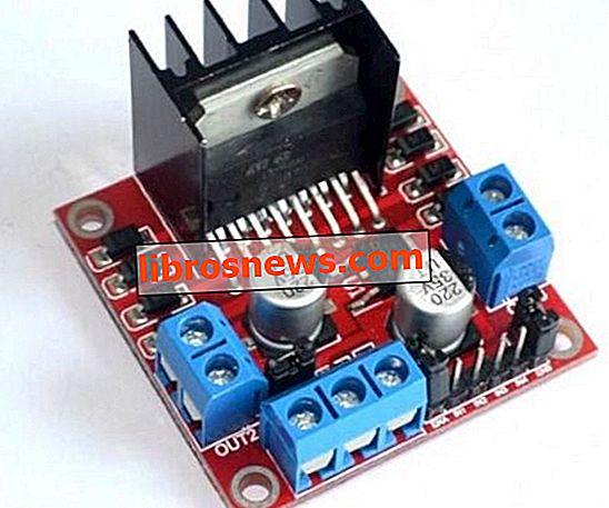 Controle motores de corriente continua y motores paso a paso con módulos de controlador de motor dual L298N y Arduino