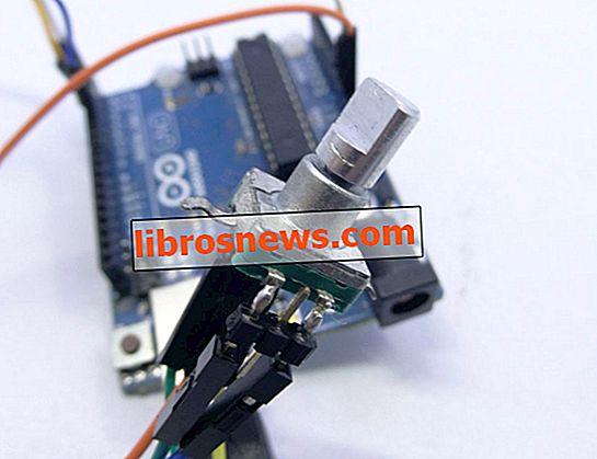Peningkatan Membaca Encoder Rotary Arduino