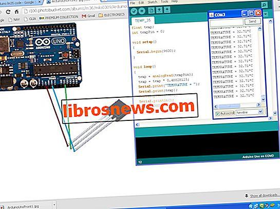 Arduino温度センサーLM35