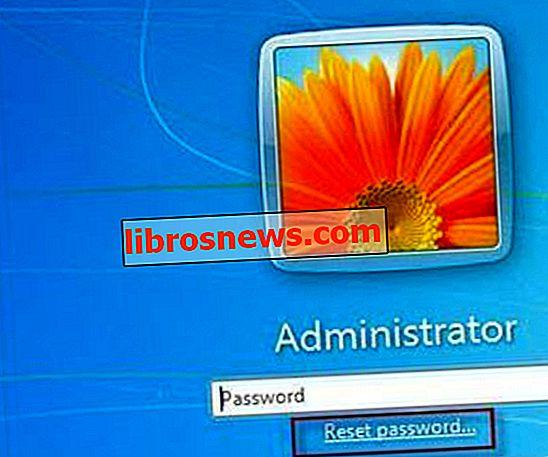 Restablecer la contraseña olvidada de Windows 7