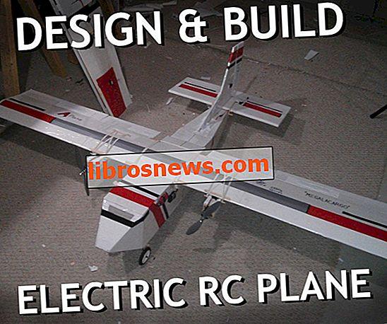 Diseña y construye tu propio avión RC eléctrico