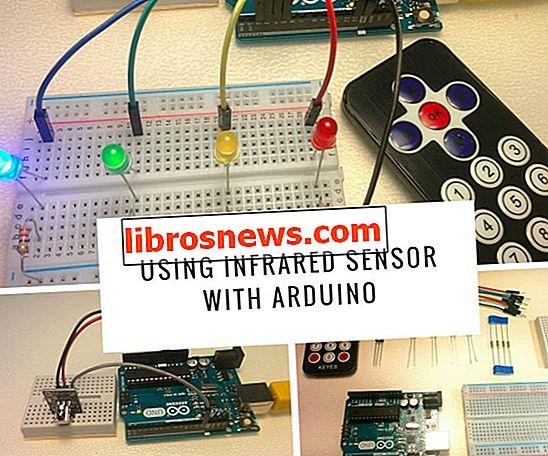 Infrarotsensor mit Arduino verwenden