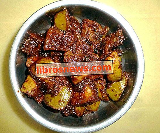 Hoe Mango-augurk te maken, de Zuid-Indiase manier