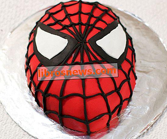 スパイダーマンケーキの作り方