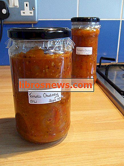 Chutney tomat buatan sendiri yang mudah
