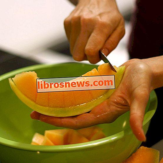 Come tagliare un melone