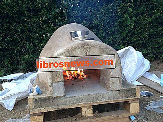 Wie man einen hausgemachten Pizzaofen macht