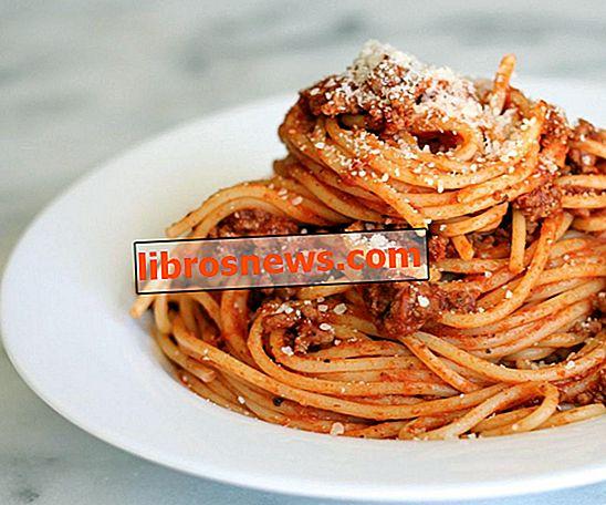 Cara Membuat Spaghetti dalam Pasangan Langkah Mudah