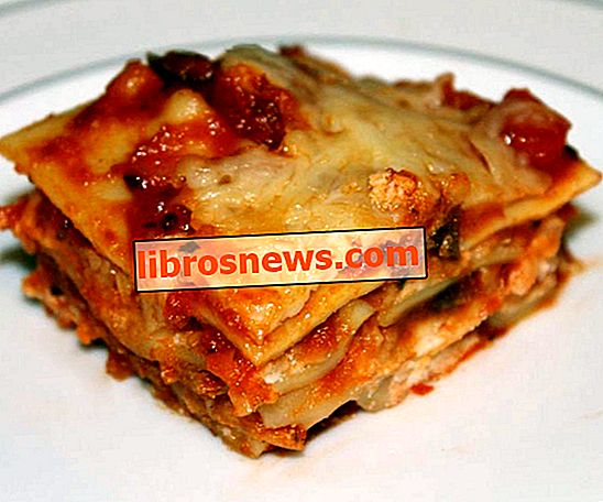 Einfache Lasagne - kein Kochen - regelmäßige Nudeln