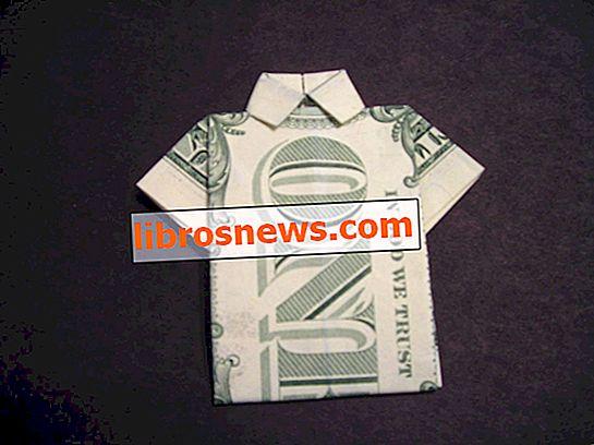 Wie man ein Dollar Bill Shirt faltet
