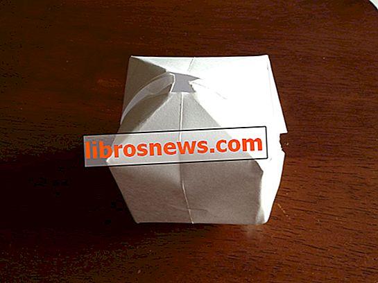 Wie man einen Papierballon / eine Wasserbombe macht