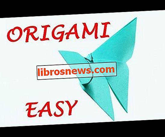 Kolay Origami Kelebek Nasıl Yapılır