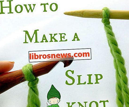 Cara Membuat Simpul Slip untuk Merajut, atau Merenda!