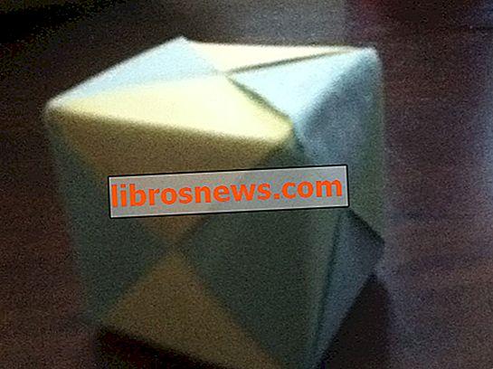 Wie man einen Origami-Würfel mit 6 Stück Papier macht