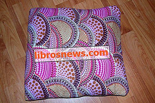 Come fare un quillow (coperta / cuscino)