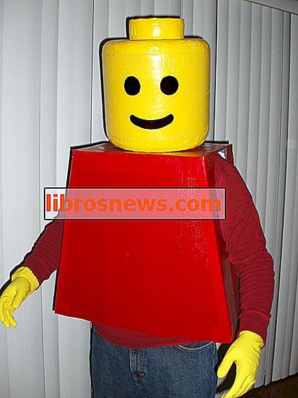 LEGO Man Kostüm!