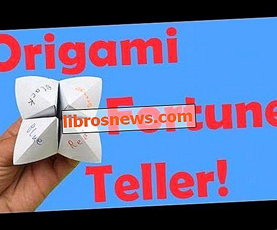 Wie man eine Origami Wahrsagerin faltet + Wie man sie benutzt