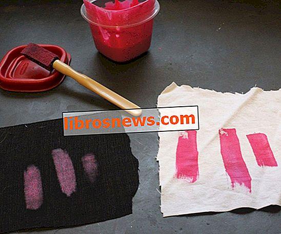 Crea la tua vernice per tessuti