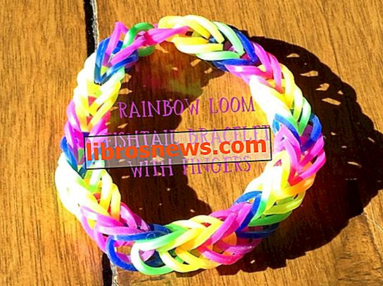 Rainbow Loom Fishtail en tus dedos