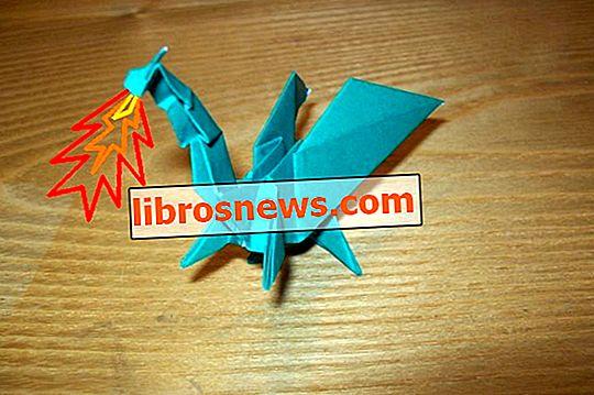 Origami Ejderha Katlama