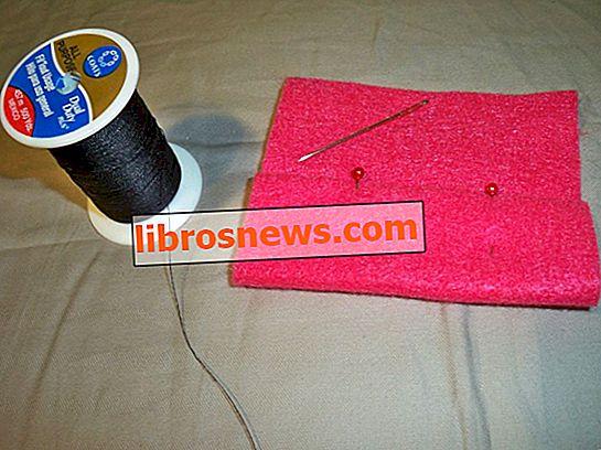 Handnähen: Basic Slip Stitch (Blindstich)