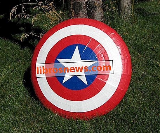 Fliegender Captain America Shield