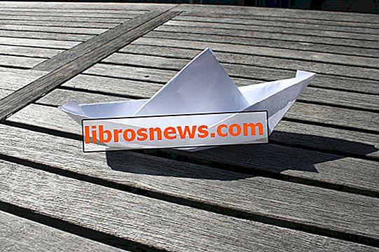 Faire un bateau flottant en papier