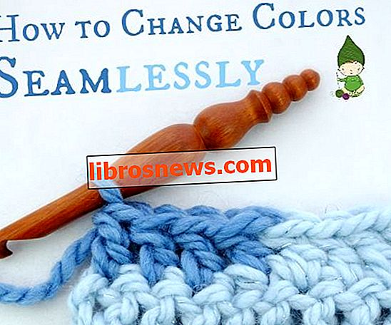Cómo cambiar los colores sin problemas en crochet ... ¡Sin ese pequeño puente!