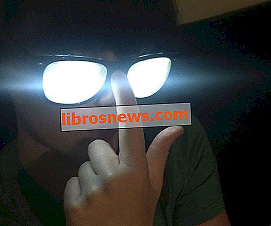 Kacamata Karakter Anime / Komik Glowing
