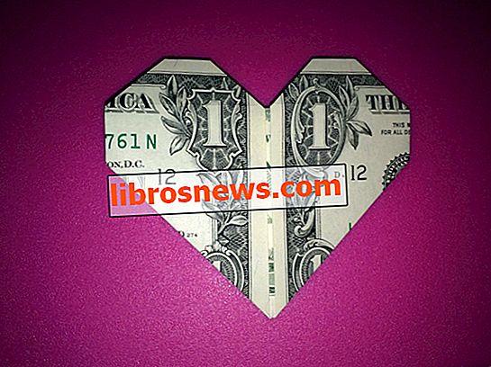 Uang Dolar Mudah Origami Heart