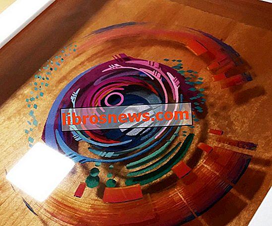 Peinture 3D: résine stratifiée et peinture acrylique