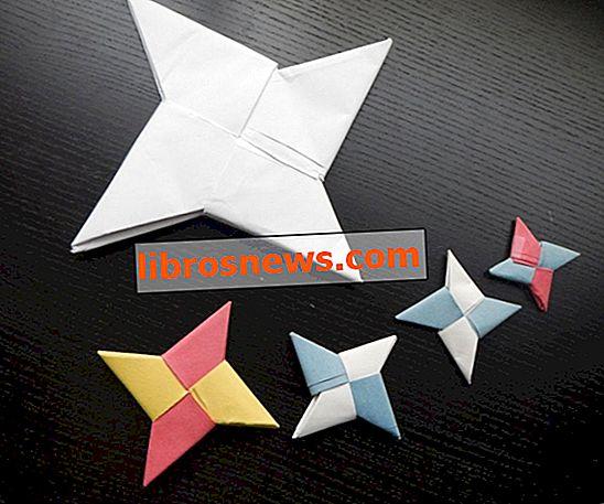 Wie man einen Origami Ninja Star macht
