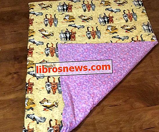 Wie man eine gewichtete Decke macht