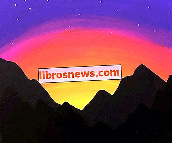 Peindre un coucher de soleil sur la montagne (pour les débutants)