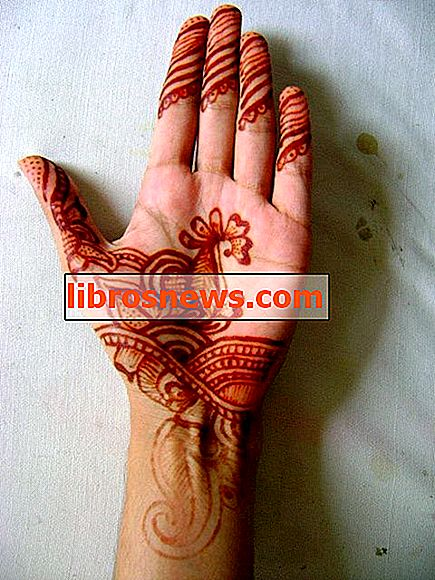 Cara Memohon Henna (Mehndi) di Tangan Anda!