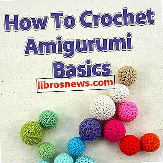 Cómo crochet: conceptos básicos de amigurumi