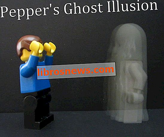 The Pepper's Ghost Illusion