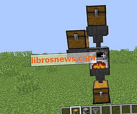Forno Minecraft completamente automatico.