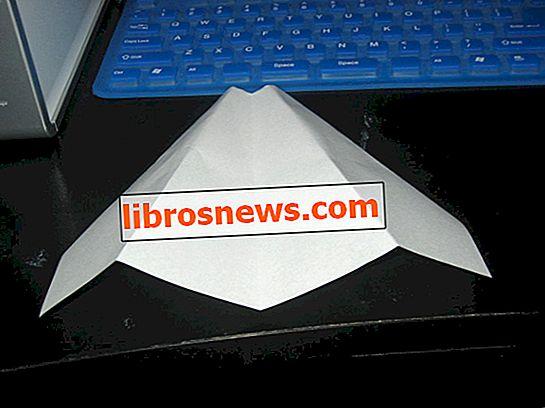 Avión de papel muy lento de un minuto