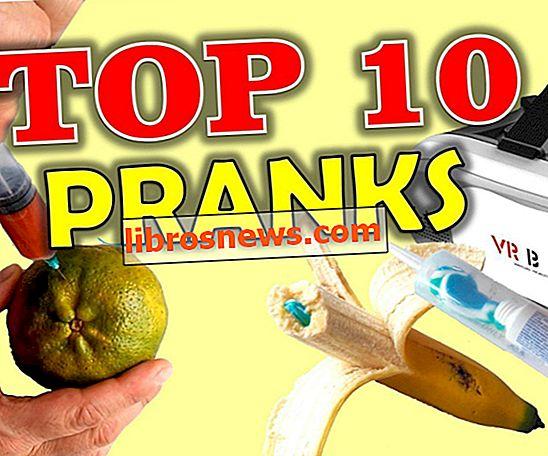 TOP 10 PRANKS - Des farces faciles pour faire vos amis